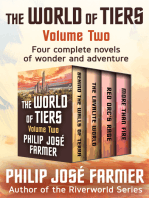The World of Tiers Volume Two: Behind the Walls of Terra, The Lavalite World, Red Orc's Rage, and More Than Fire