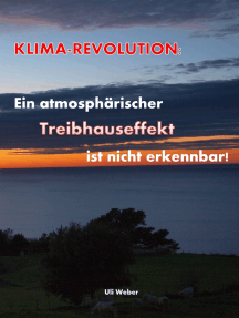 Klimarevolution: Ein atmosphärischer Treibhauseffekt ist nicht erkennbar