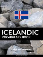 Icelandic Vocabulary Book