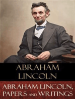 Abraham Lincoln, Papers and Writings