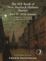 The MX Book of New Sherlock Holmes Stories Part IV
