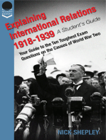 Explaining International Relations 1918-1939
