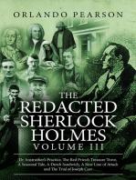 The Redacted Sherlock Holmes - Volume 3