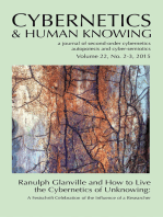 Ranulph Galnville and How to Live the Cybernetics of Unknowing