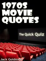 1970s Movie Quotes - The Quick Quiz