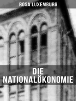 Die Nationalökonomie