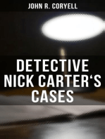 DETECTIVE NICK CARTER'S CASES - 7 Book Collection