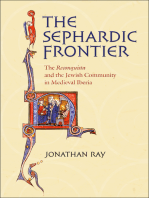 "The Sephardic Frontier: The ""Reconquista"" and the Jewish Community in Medieval Iberia"