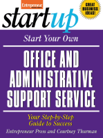 Start Your Own Office and Administrative Support Service