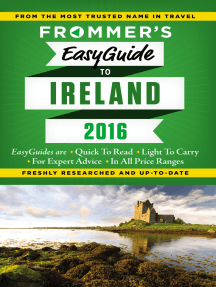 Frommer's EasyGuide to Ireland 2016