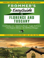 Frommer's EasyGuide to Florence and Tuscany
