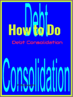 How to Do Debt Consolidation