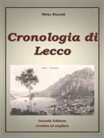 Cronologia di Lecco Dal 1815 ad oggi