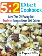 5:2 Diet Cookbook