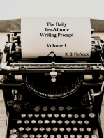 The Ten-Minute Daily Writing Prompt