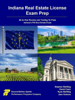 Indiana Real Estate License Exam Prep