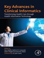 Key Advances in Clinical Informatics