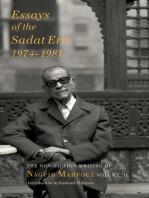 Essays of the Sadat Era