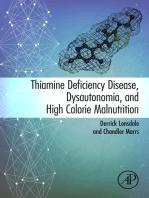 Thiamine Deficiency Disease, Dysautonomia, and High Calorie Malnutrition
