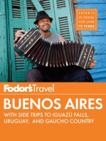 Fodor's Buenos Aires: with Side Trips to Iguaz� Falls, Gaucho Country & Uruguay