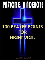 100 Prayer Points For Night Vigil