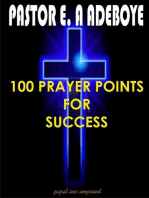 100 Prayer Points For Success