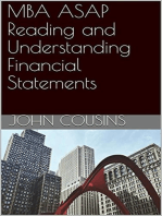 MBA ASAP Reading and Understanding Financial Statements