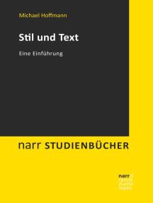 Stil und Text: Eine Einführung