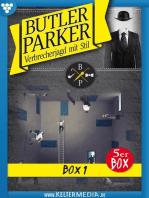 Butler Parker 5er Box 1 – Kriminalroman