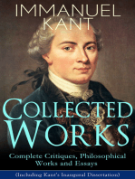 Collected Works of Immanuel Kant