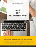 A-Z Of Wordpress