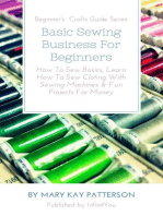 Basic Sewing Business For Beginners