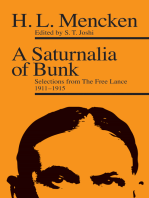 A Saturnalia of Bunk