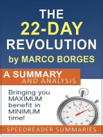 The 22 Day Revolution by Marco Borges: A Summary and Analysis