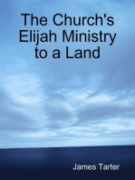 The Church's Elijah Ministry to a Land