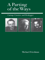 A Parting of the Ways: Carnap, Cassirer, and Heidegger