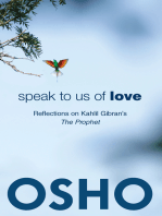 Speak to Us of Love