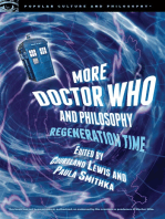 More Doctor Who and Philosophy
