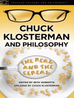 Chuck Klosterman and Philosophy