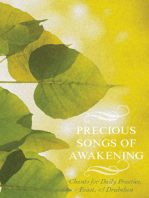 Precious Songs of Awakening: Chants For Daily Practice, Feast, and Drubchen