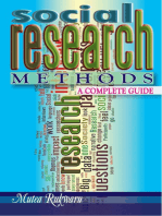 Social Research Methods. A Complete Guide
