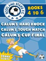 Scotland Stars F.C. series Books 4 to 6