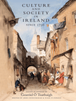 Culture and Society in Ireland Since 1752
