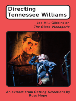 Directing Tennessee Williams