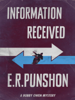 Information Received