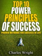 Top Ten Power Principles Of Success