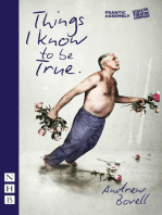 Things I Know to be True (NHB Modern Plays)
