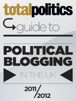 Total Politics Guide to Political Blogging in the UK 2011/12