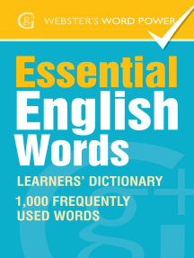 Webster's Word Power Essential English Words: Learners' Dictionary