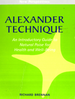 Alexander Technique: An Introductory Guide to Natural Poise for Health and Well-Being